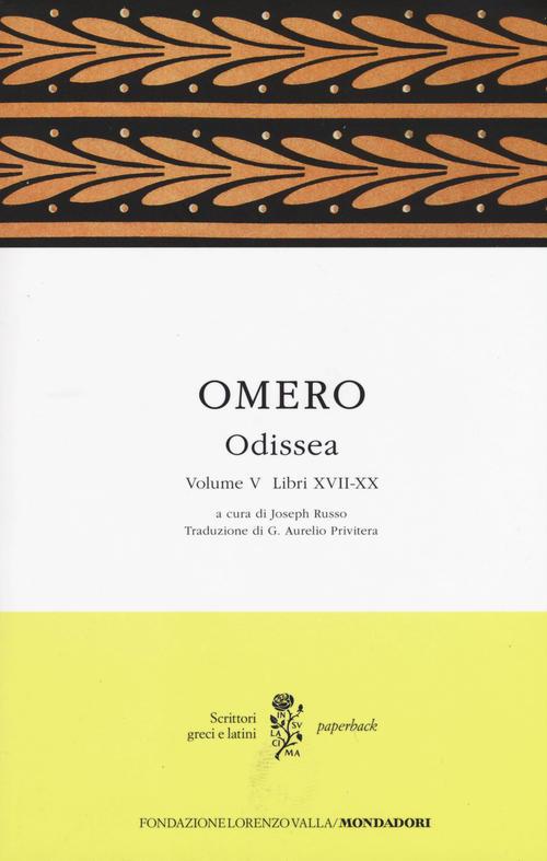 Odissea. Vol. V (Libri XVII-XX)