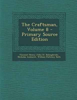 The Craftsman, Volume 8
