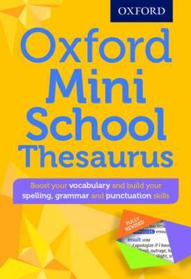 Mini school thesaurus