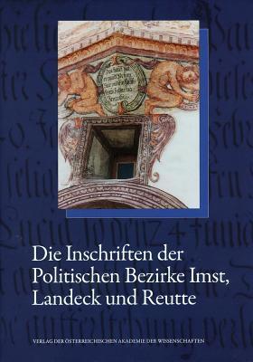Die Inschriften Des Bundeslandes Tirol, Teil 1