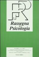 Rassegna di psicologia (2007). Vol. 2