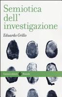 Semiotica dell'investigazione