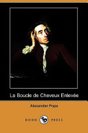 La Boucle de Cheveux Enlevee (Dodo Press)