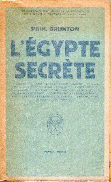 L'Égypte secrète
