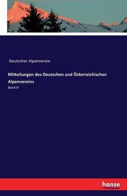 Mitteilungen des Deutschen und Österreichischen Alpenvereins