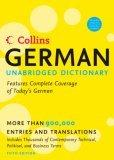 Collins German Unabridged Dictionary 5th Edition