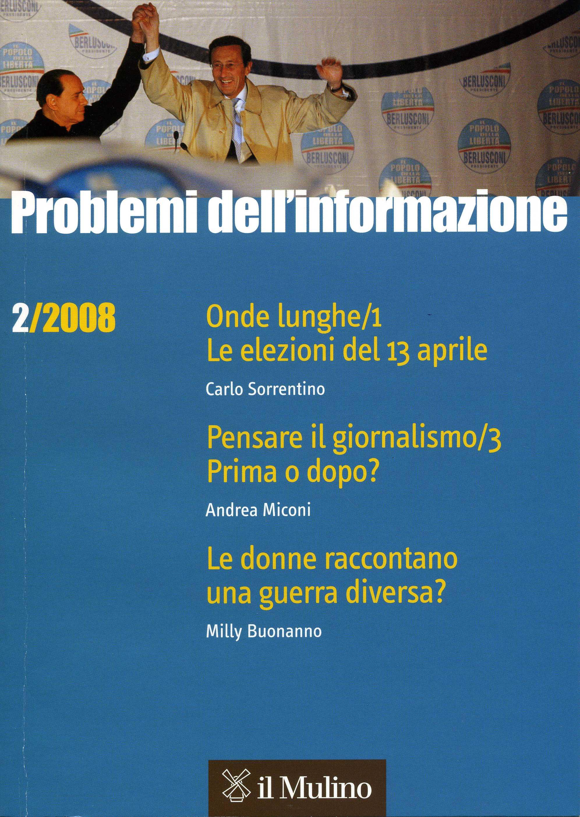 Problemi dell'informazione (2008). Vol. 2