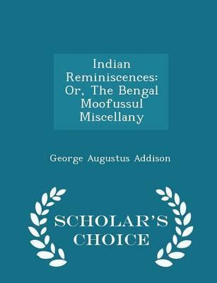 Indian Reminiscences