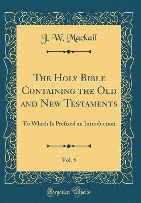 The Holy Bible Conta...