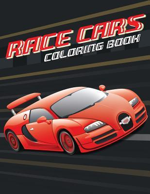 Race Cars Coloring Book