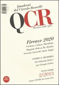 QCR. Quaderni del Circolo Fratelli Rosselli (2013)