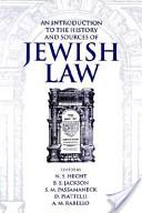 An Introduction to the History and Sources of Jewish Law (Publication (Boston University. Institute of Jewish Law), No. 22.)