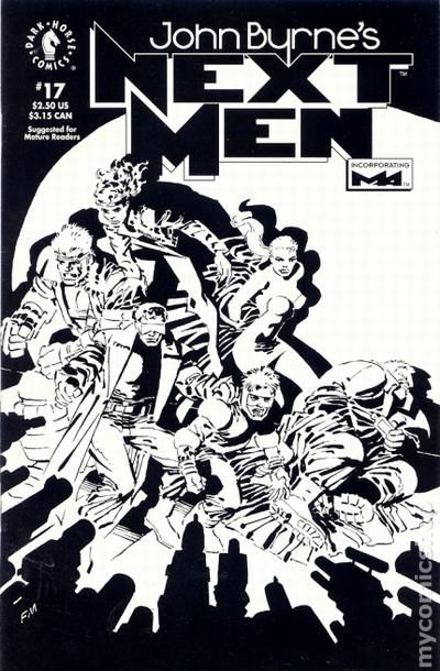 John Byrne's Next Men Vol.1 #17