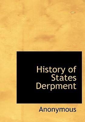 History of States Derpment