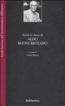 Scritti in onore di Aldo Buoncristiano