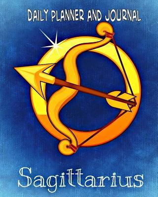 Daily Planner and Journal - Quick Appointment - Task Section, Sagittarius