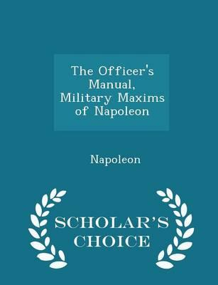 The Officer's Manual...