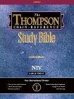 Large Print Thompson Chain Reference Bible-NIV