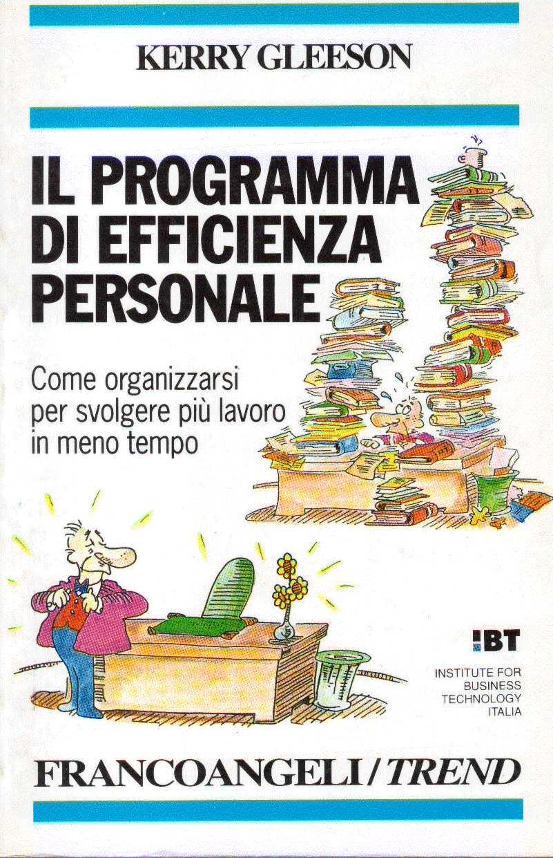 Il programma di efficienza personale