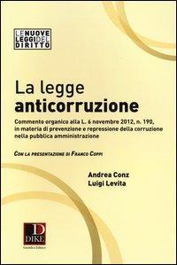 La legge anticorruzione