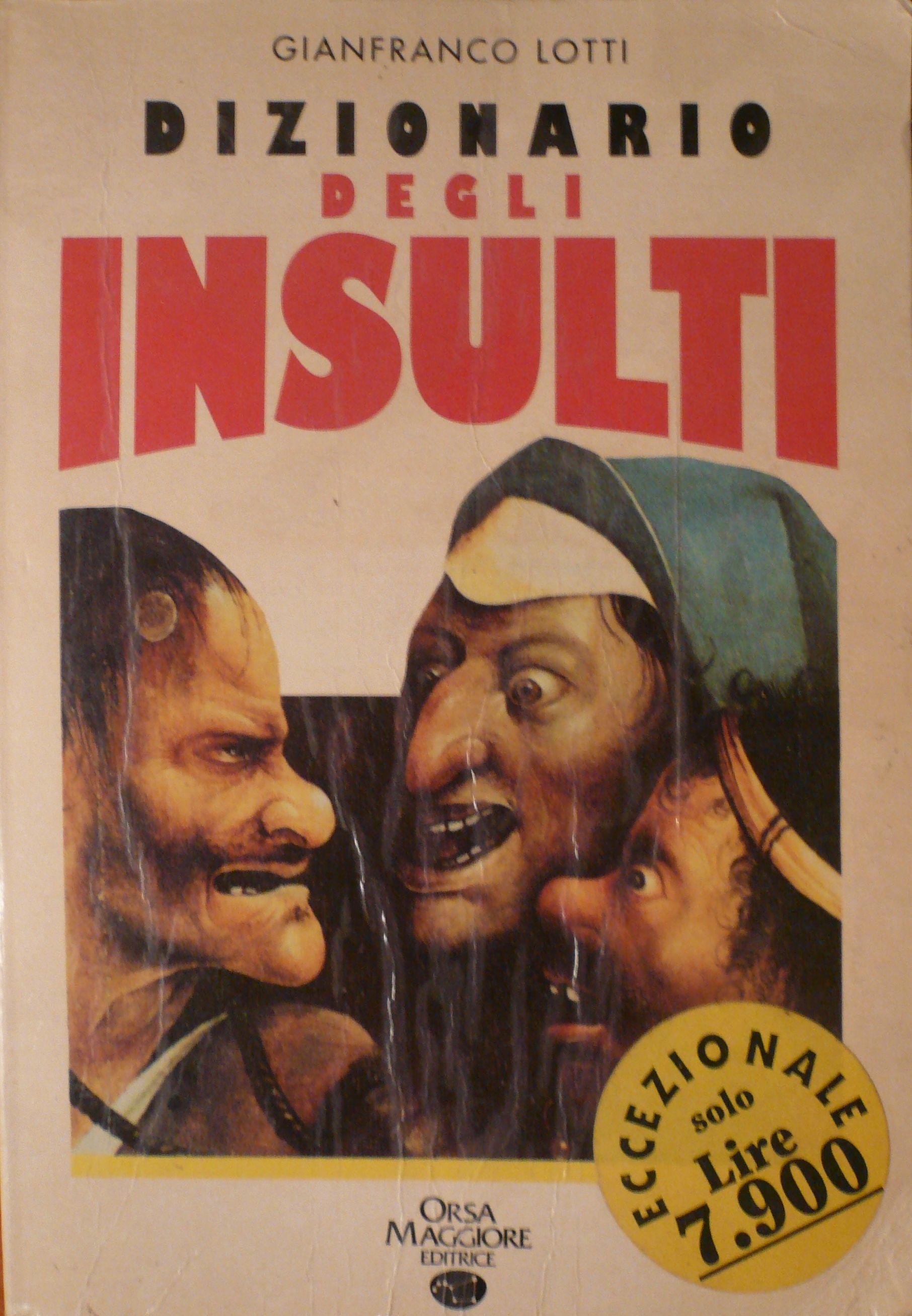 Dizionario degli insulti