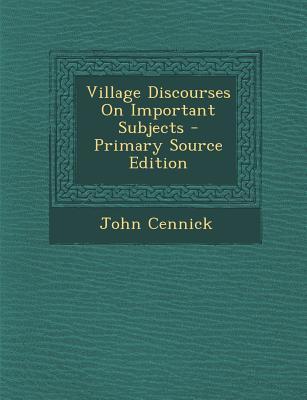 Village Discourses o...