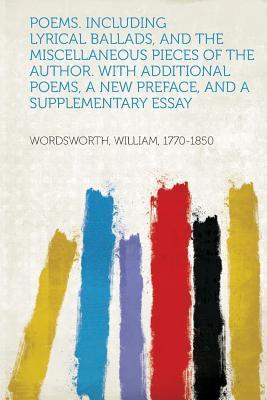 Poems. Including Lyr...