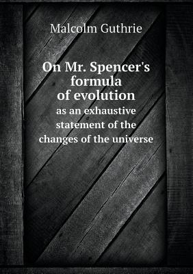 On Mr. Spencer's For...