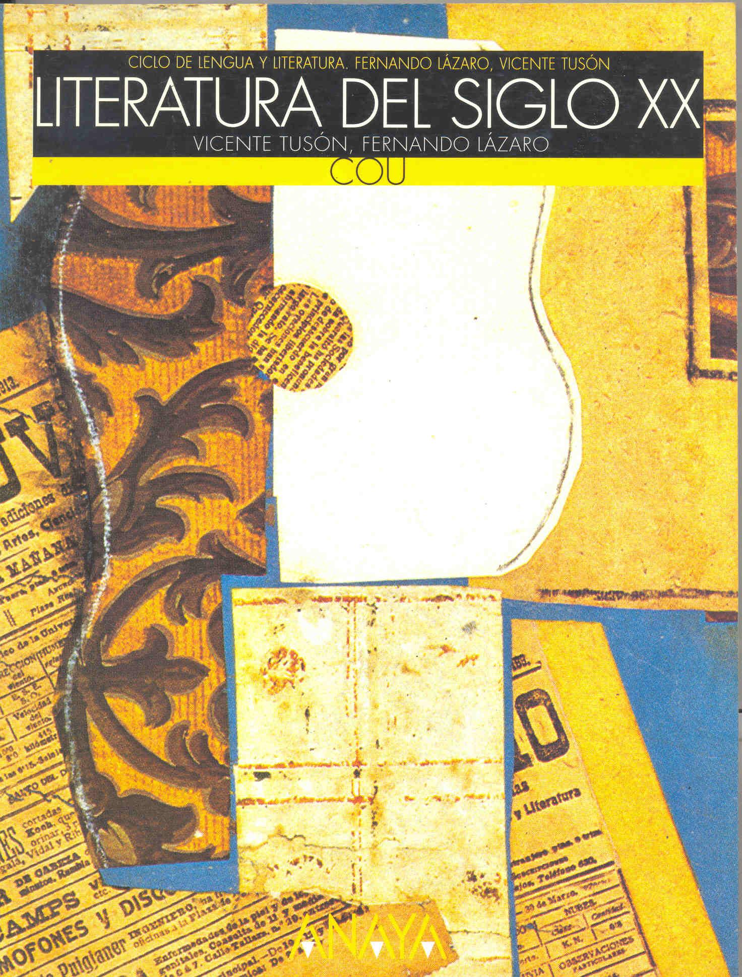 Literatura del siglo XX