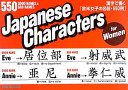 Japanese Characters for Women