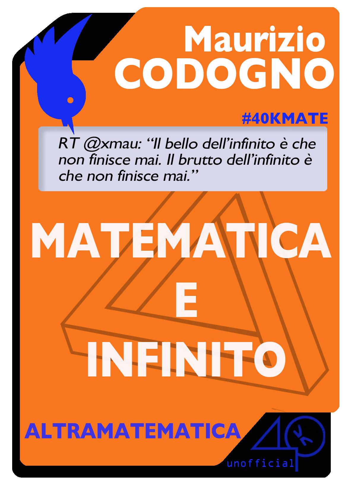 Matematica e infinit...