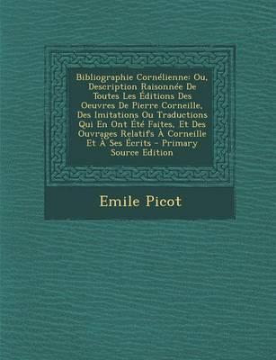 Bibliographie Cornelienne