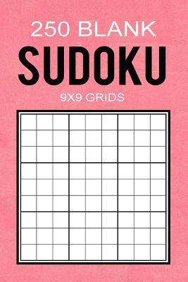 250 Blank Sudoku 9x9 Grids