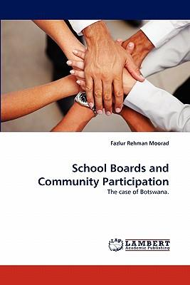 School Boards and Community Participation