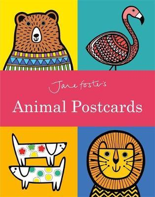 Jane Foster's Animal Postcard Book