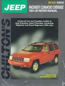 Chilton's Jeep, Wagoneer/Comanche/Cherokee 1984-96 Repair Manual