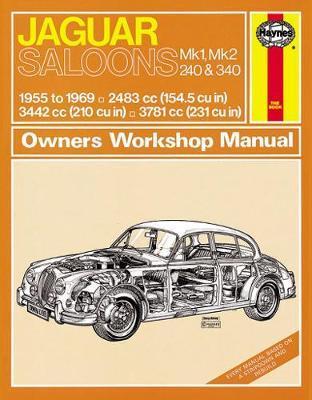Jaguar MkI & II, 240 & 340 (55 - 69) Haynes Repair Manual