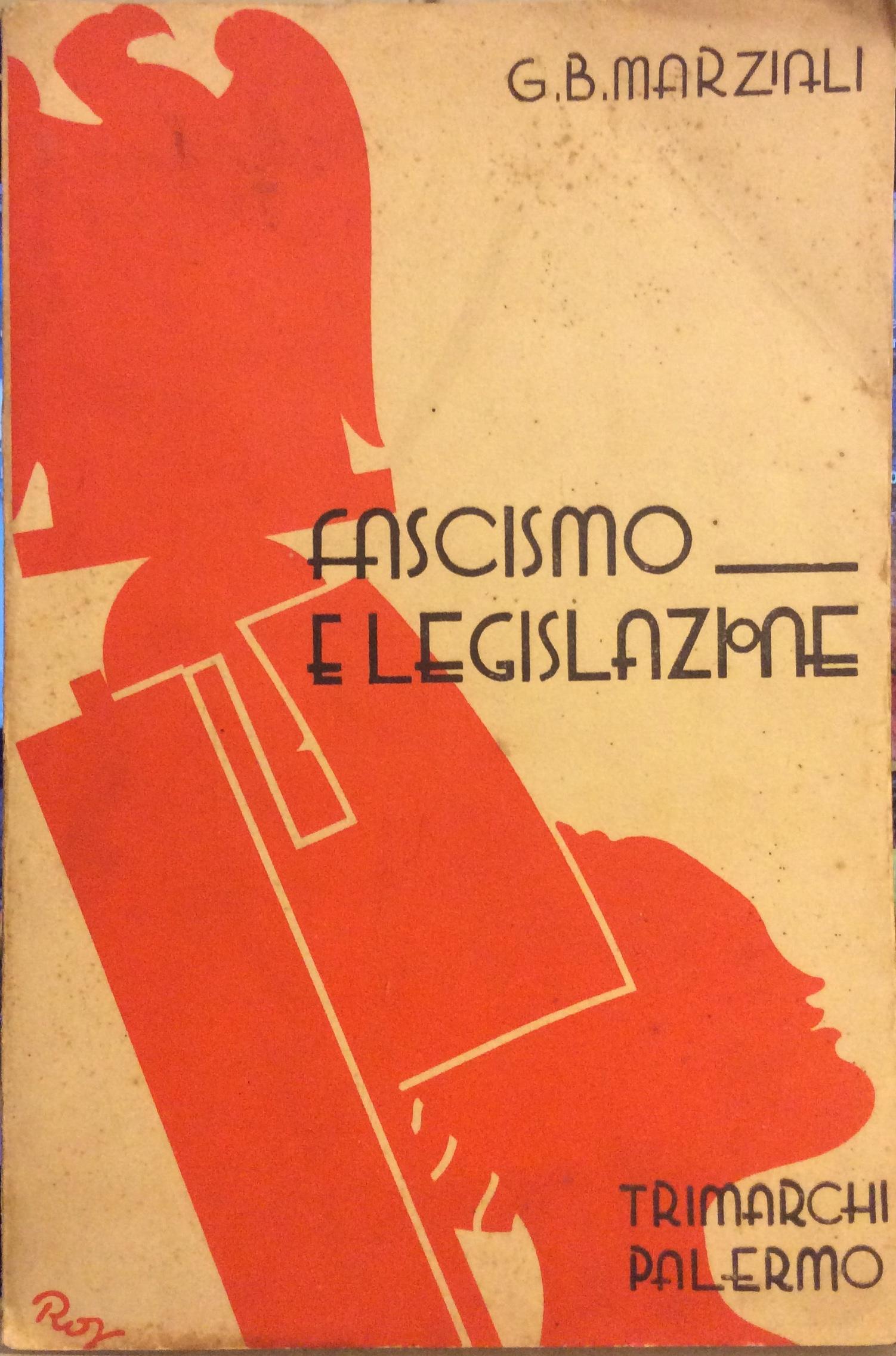 Fascismo e legislazione