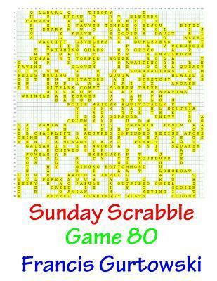 Sunday Scrabble Game