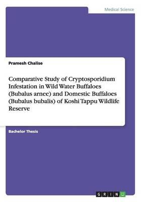 Comparative Study of Cryptosporidium Infestation  in Wild Water Buffaloes (Bubalus arnee) and  Domestic Buffaloes (Bubalus bubalis) of  Koshi Tappu Wildlife Reserve