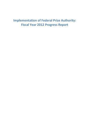 Implementation of Federal Prize Authority
