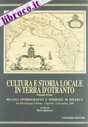 Cultura e storia locale in terra d'Otranto