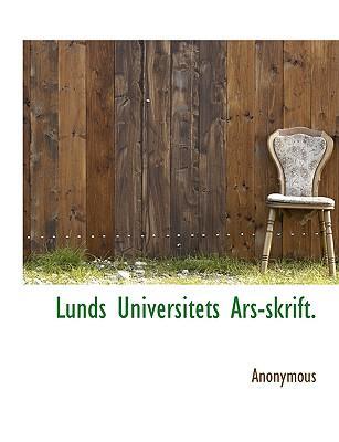 Lunds Universitets Ars-Skrift