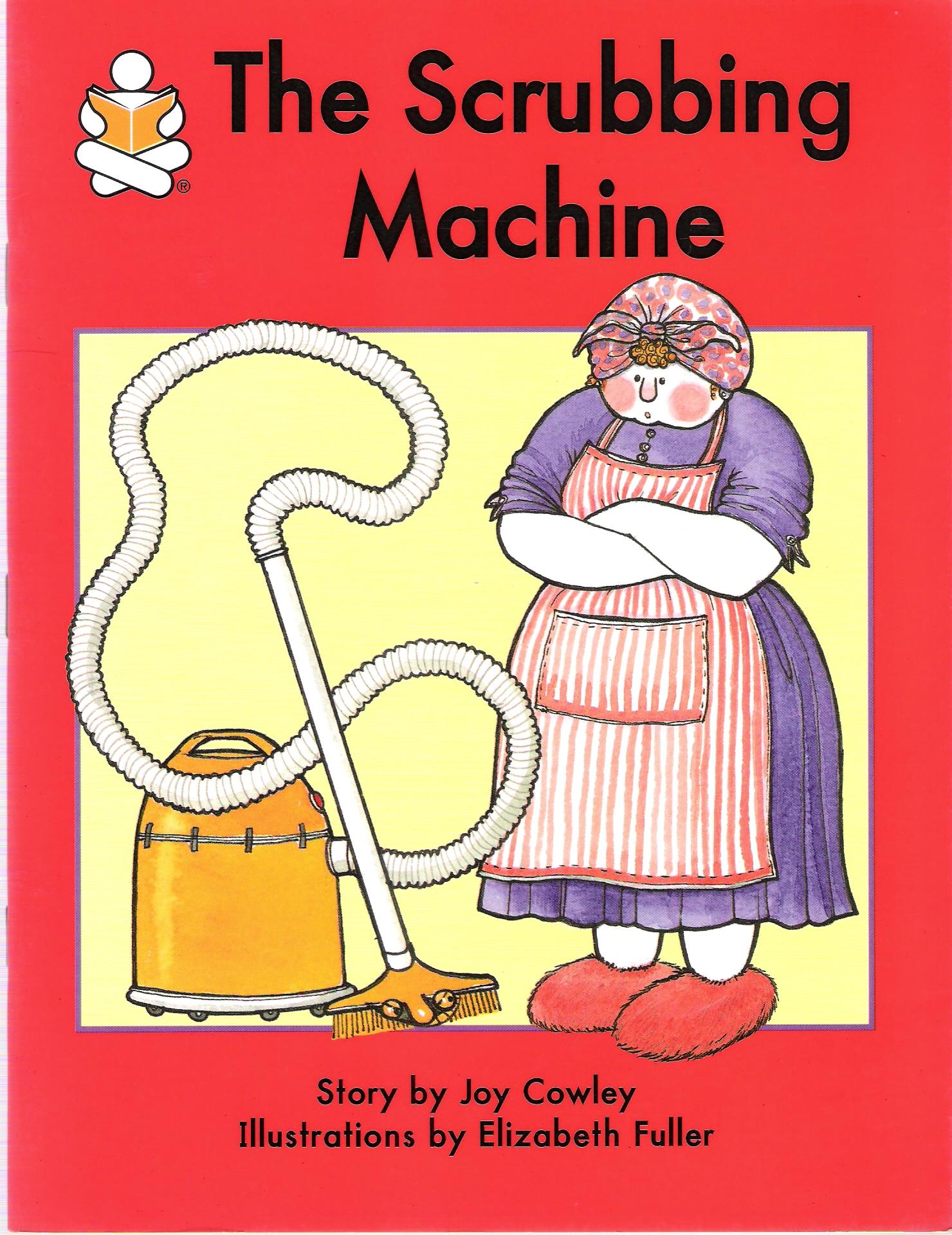 The scrubbing machine