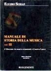 Manuale di storia della musica - vol. 3