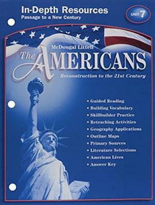 The Americans Reconstruction to the 21st Century In-depth Resources