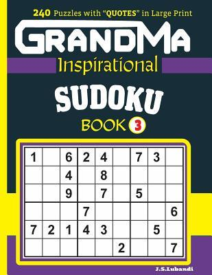 Grandma Inspirational Sudoku Book