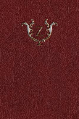 Monogram Z Blank Book
