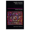 English literature before Chaucer