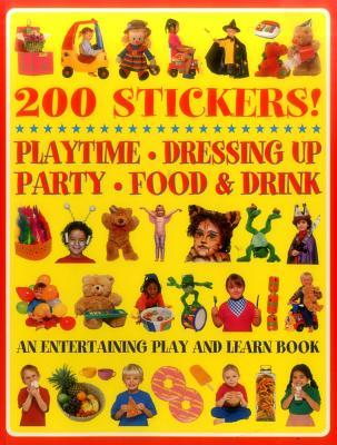 200 Stickers! Playtime - Dressing Up - Party - Food & Drink